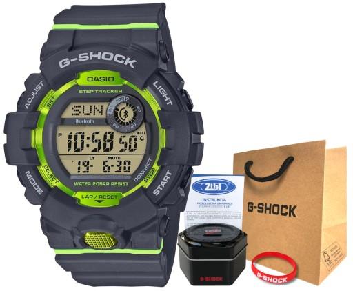 Zegarek Casio G-SHOCK GBD-800-8ER bluetooth smart