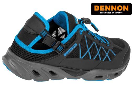 BENNON Sandały Trekkingowe AQUARO Sandal EU 45 10595389060 Obuwie Męskie Męskie IY VBXQIY-4