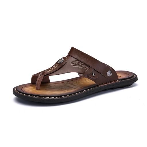 Men's Sandals Men's Flip Flops Comfortable Shoes 10787662527 Obuwie Męskie Męskie BG QXZCBG-3