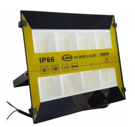Halogen Lampa Naswietlacz Led 100w 10000lm Premium 8886407672 Allegro Pl