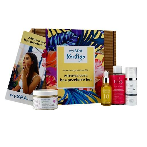Zestaw SPA kosmetyki na przebarwienia kwasy