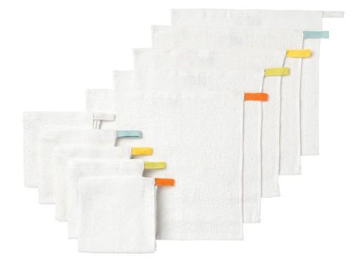 Zestaw 10szt ręczniki myjki KRAMA ikea 30x30 24h