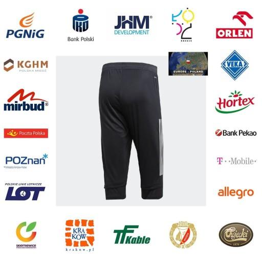19-20 Spodnie 3/4 Adidas Niemcy DFB 3XL 9959427544 Odzież Męska Spodnie QU BSHTQU-7