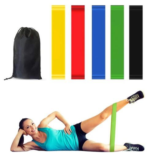 Zestaw 5 Gum Do Cwiczen Mini Band Fitness Gumy 8740397618 Allegro Pl