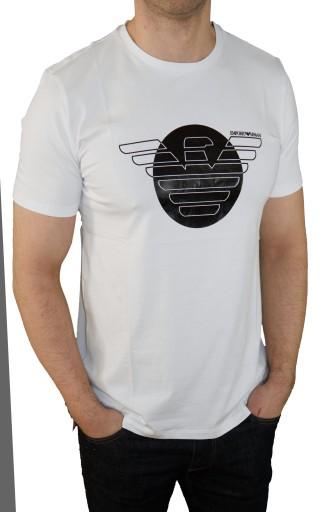 1 KOSZULKA T-SHIRT ARMANI EA7 EMPORIO XXL 10574690995 Odzież Męska T-shirty RU DSQERU-2