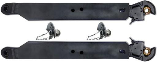 2x SUSTIPRINTA DIRZELIS SONINIAI 950 mm C-385 C385 KAT2