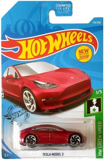 Hot Wheels Tesla Model 3 Hw Green Speed 1 5 1 64 N 9577698967 Allegro Pl
