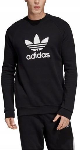 czarna bluza męska adidas allegro