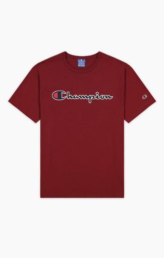 CHAMPION Koszulka SCRIPT LOGO / XXL 9884029899 Odzież Męska T-shirty TA WDHPTA-4