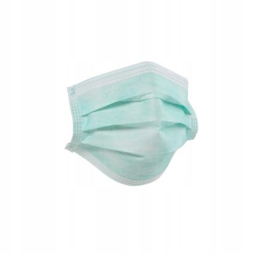 Maseczka ochronna chirurgiczna 3 warstwowa