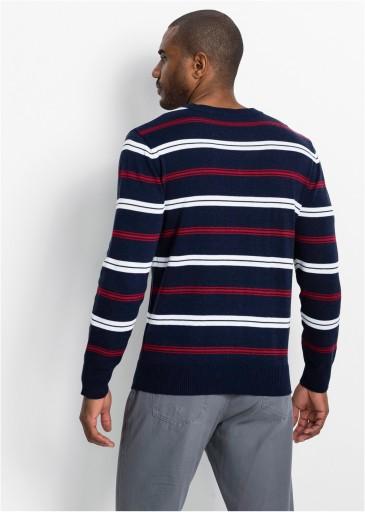 BONPRIX sweter męski bpc collection r 56/58(XL) 10563075411 Odzież Męska Swetry XG OIKKXG-4
