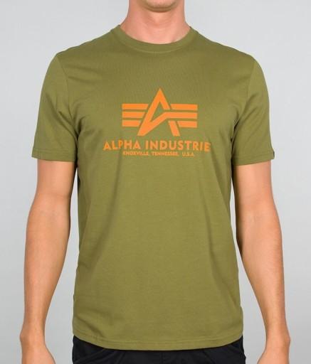 T-shirt koszulka ALPHA INDUSTRIES BASIC 100501 440 10605598480 Odzież Męska T-shirty AE OEEAAE-4