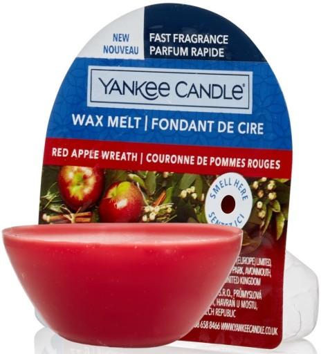 Pachnący świąteczny wosk Yankee Red Apple Wreath