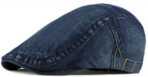 Jeansowy kaszkiet męski bawełna Pako Jeans 8050-3