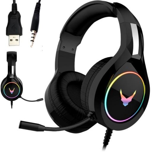 Sluchawki Z Mikrofonem Gracza Laptopa Xbox Ps4 Pc Sklep Komputerowy Allegro Pl