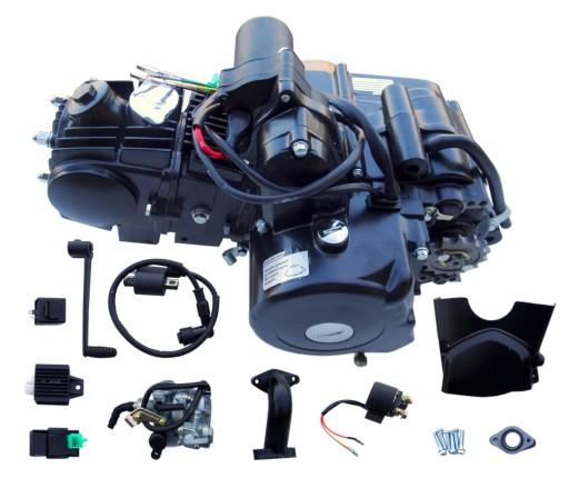 ENGINE 125 12KM SEMI-AUTOMATIC ATV QUAD 3+1 REVERSE
