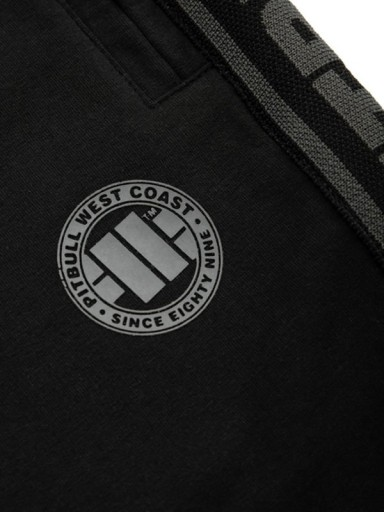 KrÓtkie spodenki szorty PIT BULL Small Logo S 10160100258 Odzież Męska Spodnie VA WDCFVA-3