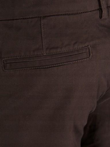 CZEKOLADOWE chinosy RURKI brązowe Only Sons 40/32 10491064894 Odzież Męska Spodnie LH VDXOLH-4