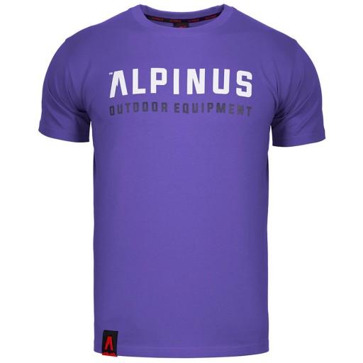 Alpinus Outdoor Eqpt. t-shirt KOSZULKA MĘSKA -XXL 9943516347 Odzież Męska T-shirty FW XZZWFW-2