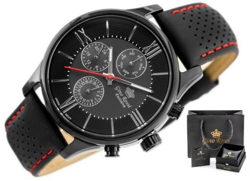 Zegarek Gino Rossi Exclusive CHRONOGRAF BOX GRAWER