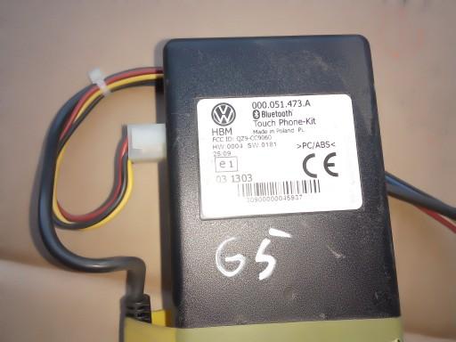 ADAPTER BLUE 000051473A VW GOLF PASSAT