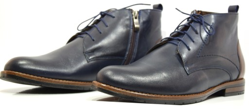 Obuwie męskie buty zima skóra trzewik 638 R.40 8475676250