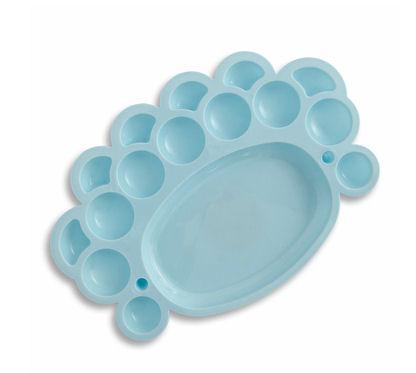 Mini paleta malarska Dp-Craft Paletka niebieska