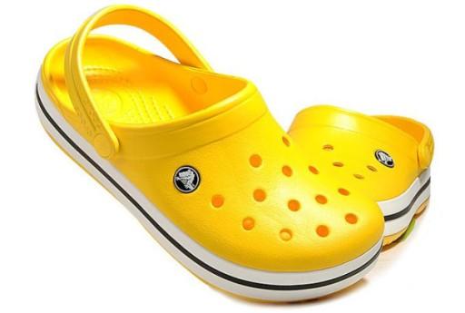Crocs Klapki sandały buty dziury żÓłty 10767119456 Obuwie Męskie Męskie DA UILHDA-3