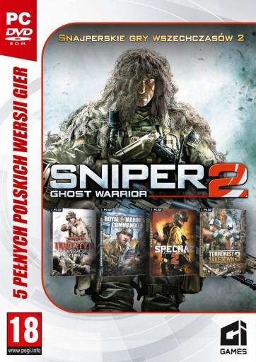 Sniper Ghost Warrior 2 Zestaw 5 Gier Snajper Pc Stan Nowy 9679798521 Allegro Pl