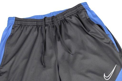 Spodnie męskie Nike Dry Academy Pant KPZ czarno-ni 10740589188 Odzież Męska Spodnie FX USHUFX-1