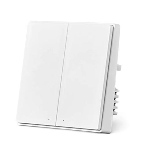 Aqara D1 przełącznik 2-przyciski SLW + WallBox86