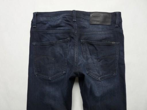G-STAR 3301 Slim męskie jeansy rurki W30 L30 10736746386 Odzież Męska Jeansy RZ ZWQZRZ-5