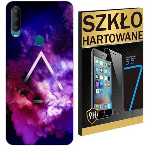 200wzorów ETUI+SZKLO HARTOWANE do ALCATEL 3X 2019
