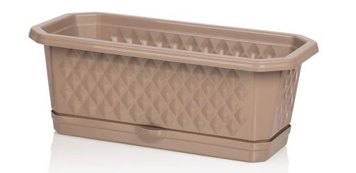 Skrzynka Balkonowa Rubio 40cm Z Podstawkiem 9153192642 Allegro Pl