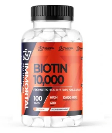 BIOTYNA 10 mg Twój Cel To Włosy Skóra Paznokcie