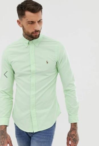 Polo Ralph Lauren slim fit 9928857729 Odzież Męska Koszule DH YVLLDH-9
