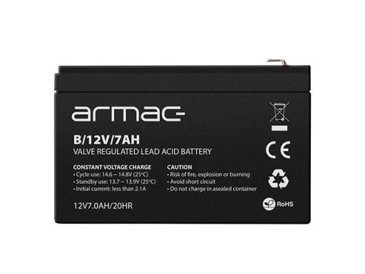 ARMAC Akumulator żelowy do UPS 12V/7AH B/12V/7AH