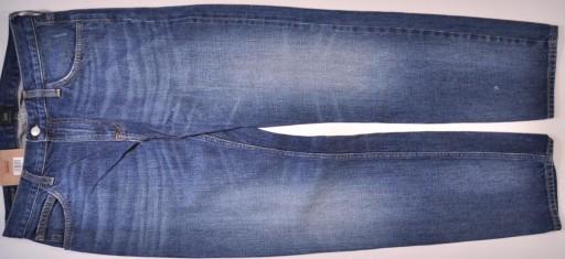 LEE spodnie SLIM blue jeans RIDER _ W32 L30 10735993151 Odzież Męska Jeansy FG IVLUFG-7