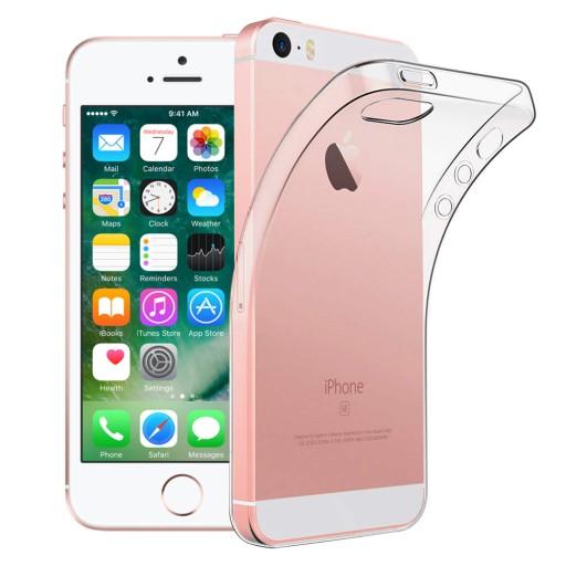 Etui Przezroczyste Do Iphone 5 5s Se Szklo 6843703723 Sklep Internetowy Agd Rtv Telefony Laptopy Allegro Pl