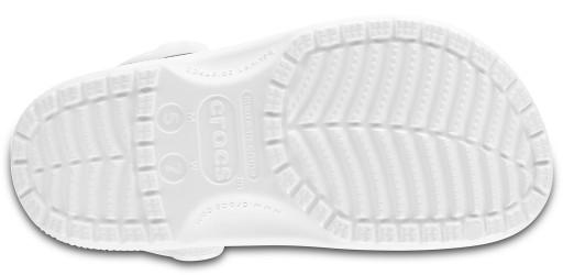 Klapki Crocs Classic Clog białe M12 46-47 9116554271