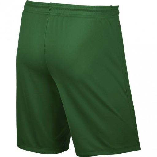 Spodenki męskie Nike Park II Knit Short NB zielone 10475923864 Odzież Męska Spodenki ON UIFEON-3