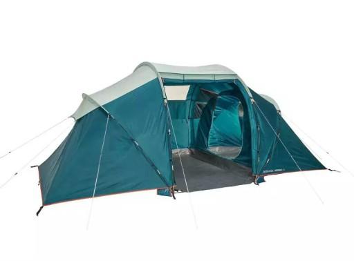 Quechua Namiot 4 Osobowy 2 Sypialnie Przedsionek 8064568815 Allegro Pl