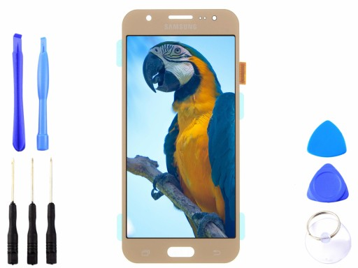 Wyświetlacz Samsung Galaxy J5 J500 złoty OLED