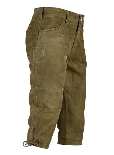 WYPRZEDAŻ! Lederhose Hubertus spodnie 3/4 skÓra 10559698131 Odzież Męska Spodnie CH ZHAGCH-8