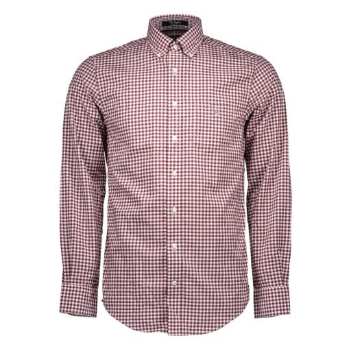 GANT Koszula męska w kratkę elegancka S 9955151620 Odzież Męska Koszule JH WBQLJH-7