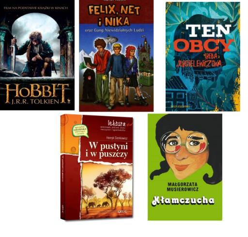 Lektury Kl 6 Hobbit Felix Ten Obcy I In Pakiet 5 142 99 Zl Allegro Pl Raty 0 Darmowa Dostawa Ze Smart Gorlice Stan Nowy Id Oferty 9493985337