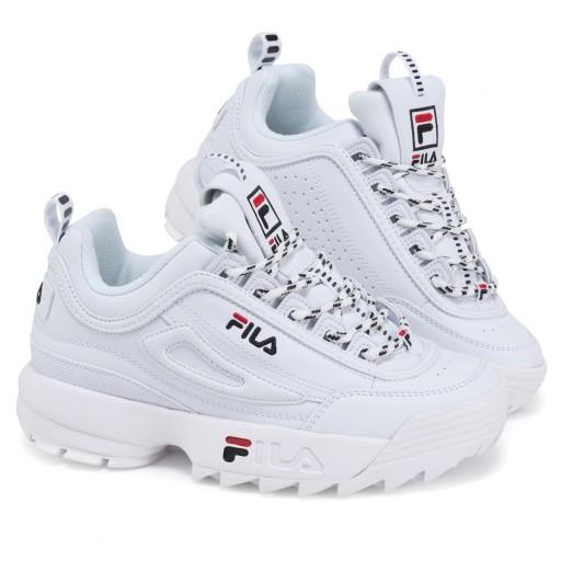 Buty Fila Disruptor Damskie Biale Sneakersy 38 10021405203 Allegro Pl