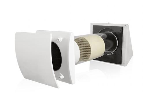 Rekuperator ścienny BY-PASS odzysk ciepła 25m3/h