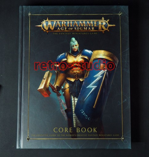 podręcznik Warhammer Age of Sigmar
