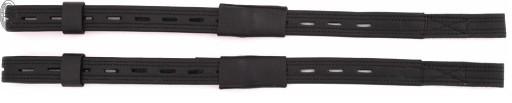 Puśliska ujeżdżeniowe DAW-MAG skórzane czarne 65cm